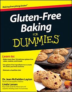 Gluten Free Baking For Dummies Book