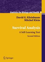 Survival Analysis PDF