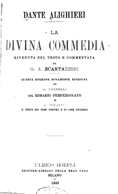 La divina commedia commentata da G.A. Scartazzini