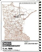 US-169, Cross Range Expressway Improvement, US-2 to MN-65, Itasca County: Environmental Impact Statement