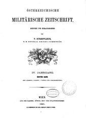 Streffleurs militärische Zeitschrift: Band 1;Band 4