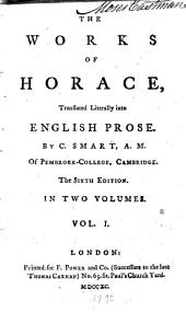 The Works of Horace: Volume 1