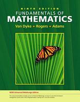 Fundamentals of Mathematics  Enhanced Edition PDF