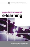 Preparing for Blended E learning PDF