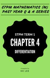 STPM 2017 MM Term 1 Chapter 04 Differentiation - STPM Mathematics (M) Past Year Q & A: The Complete STPM Past Year Series