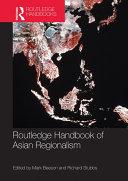 Routledge Handbook of Asian Regionalism