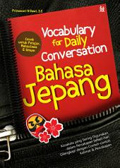 Vocabulary for Daily Conversation Bahasa Jepang