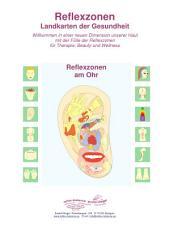 Reflexzonen am Ohr: Reflexzonen Landkarten der Gesundheit