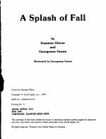 A Splash of Fall