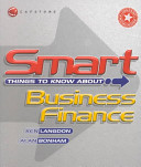 Smart Things to Know About  Business Finance