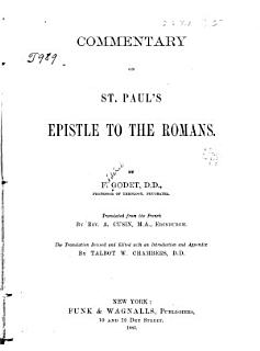 Commentary on St  Paul s Epistle to the Romans Book