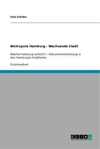 Metropole Hamburg   Wachsende Stadt PDF