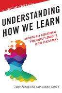 Understanding How We Learn Book