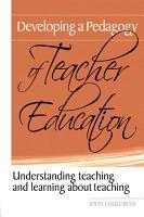Developing a Pedagogy of Teacher Education PDF