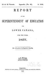 Journals of the Legislative Assembly of the Province of Canada. Appendix: Volume 16