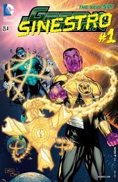 Green Lantern feat Sinestro (2012-) #23.4