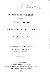 An Elementary Treatise on the Differential and Integral Calculus