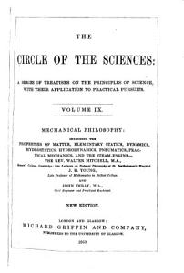The Circle of the Sciences  Mechanical philosophy PDF