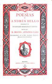 Poesías de Andrés Bello