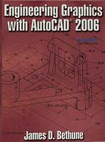 Engineering Graphics with AutoCAD 2006 PDF