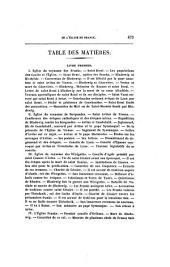 Histoire de l'Eglise de France: composée sur les documents originaux et authentiques
