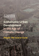 Sustainable Urban Development in the Age of Climate Change