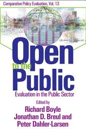 Open to the Public: Evaluation in the Public Arena