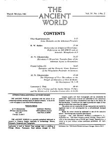 The Ancient World PDF