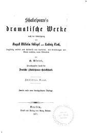 Shakespeare's dramatische Werke: Band 12