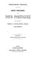 Contos tradicionaes do povo portuguez PDF