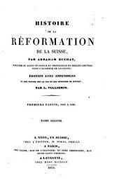 Histoire de la réformation de la Suisse: Volume2
