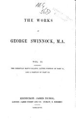 The Works Of George Swinnock M A  Book PDF