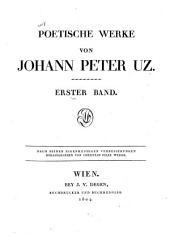Poetische Werke: Nach seinen eigenhändigen Verbesserungen, Band 1