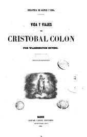 Vida y viajes de Cristobal Colón