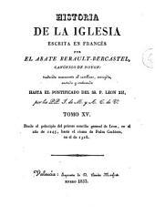 Historia de la Iglesia, 15