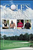 Golf s Greatest Eighteen PDF