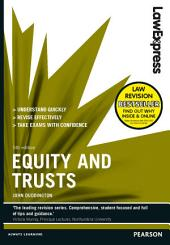 Law Express: Equity and Trusts: Edition 5