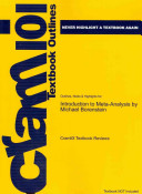 Outlines and Highlights for Introduction to Meta Analysis by Michael Borenstein  Isbn PDF