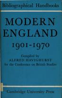 Modern England 1901 1970 PDF