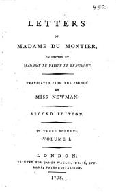Letters of Madame Du Montier: Volume 1