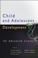 Child and Adolescent Development PDF