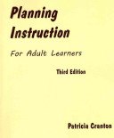Planning Instruction for Adult Learners Book