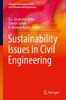 Sustainability Issues in Civil Engineering PDF