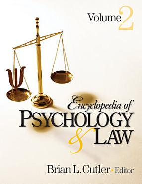 Encyclopedia of Psychology and Law PDF