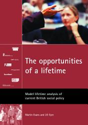The Opportunities of a Lifetime PDF