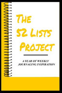 The 52 Lists Project Book