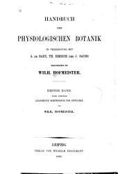 Allgemeine Morphologie der Gewächse