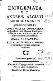 Emblemata V.C. Andreae Alciati ...