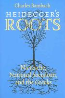 Heidegger s Roots PDF