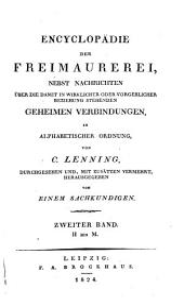 Encyclopädie der Freimaurerei: Band 2